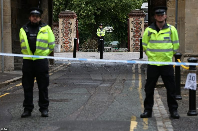 Thames Valley Police have also reassured residents that there will be an extra police presence on the streets yesterday following the attack