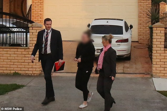 A female school teacher has been arrested and charged over allegations a 14-year-old student was sexually assaulted