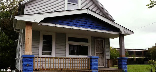 Castro's home in Cleveland, where police say he held his kidnapping victims and raped them for years