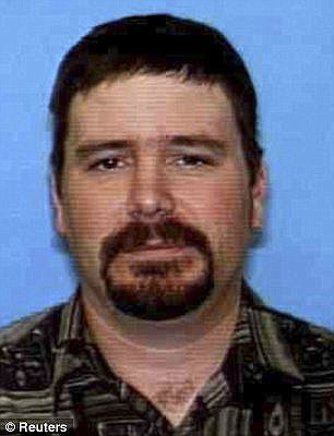 FBI agents shot dead Jim DiMaggio after he was discovered with Hannah in Idaho in August 2013
