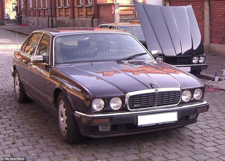 Brueckner used this classic Jaguar to take women he was wooing out for long drives