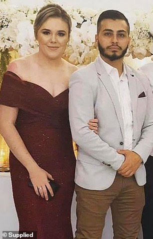 The glamorous teacher is engaged to be married (with her fiance above) and had just secured a new job teaching at a Sydney school ...