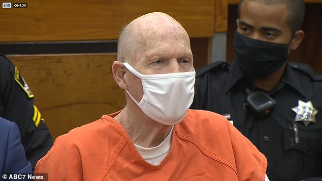 The Golden State Killer faced his victims in court Tuesday, the first of four days of hearings before he is sentenced to life in prison
