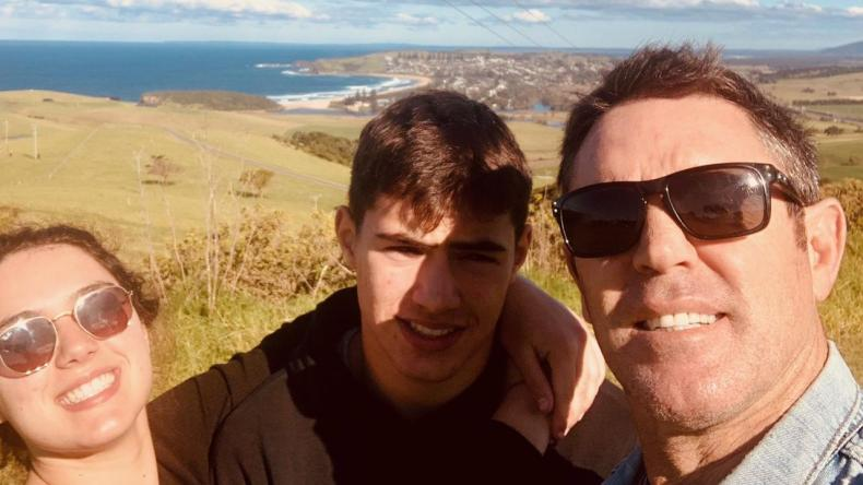 Fittler is the dad to teenagers Zach and Demi.