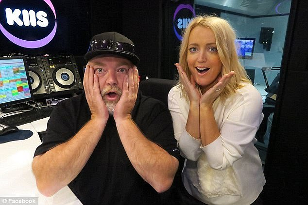 The talk: For the uninitiated, 'WAP' is an acronym for 'wet a** p***y', although the radio edit of the song replaces this phrase with 'wet and gushy'. Jackie (right, with co-host Kyle Sandilands) took a straightforward approach and explained to her daughter what the song meant