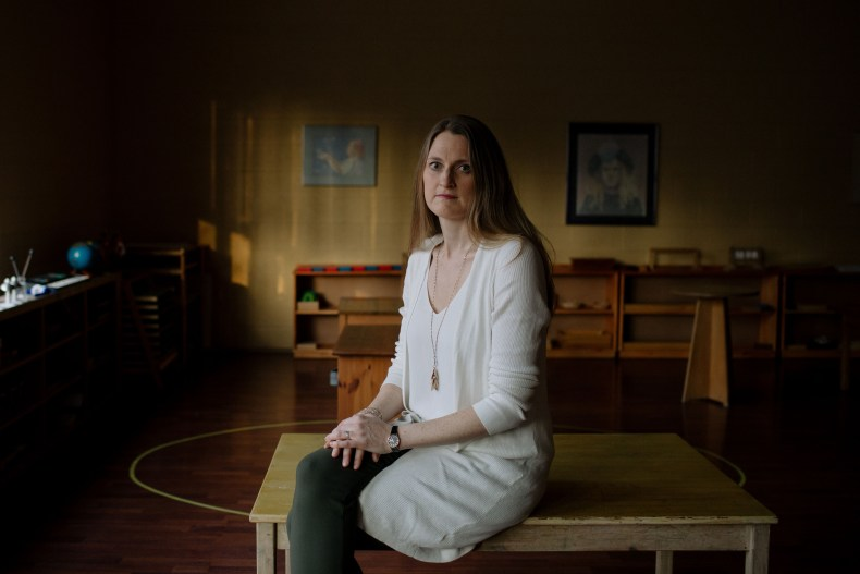 Kathleen Hilchey works as an anti-bullying specialist. (Photograph by Chloë Ellingson)