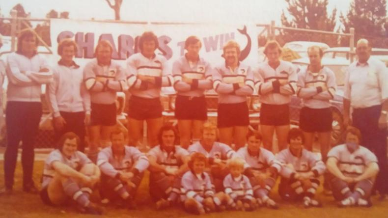 Ricky Stuart and brother Jamie carried the sand bucket over 40 years ago for Lakes United Sharks.