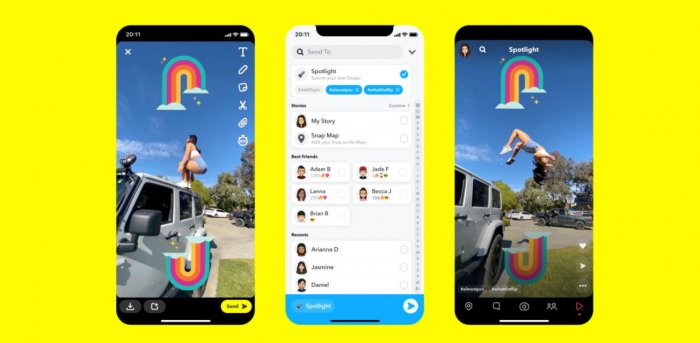 Snapchat challenges TikTok with new curated video feed | Deccan Herald