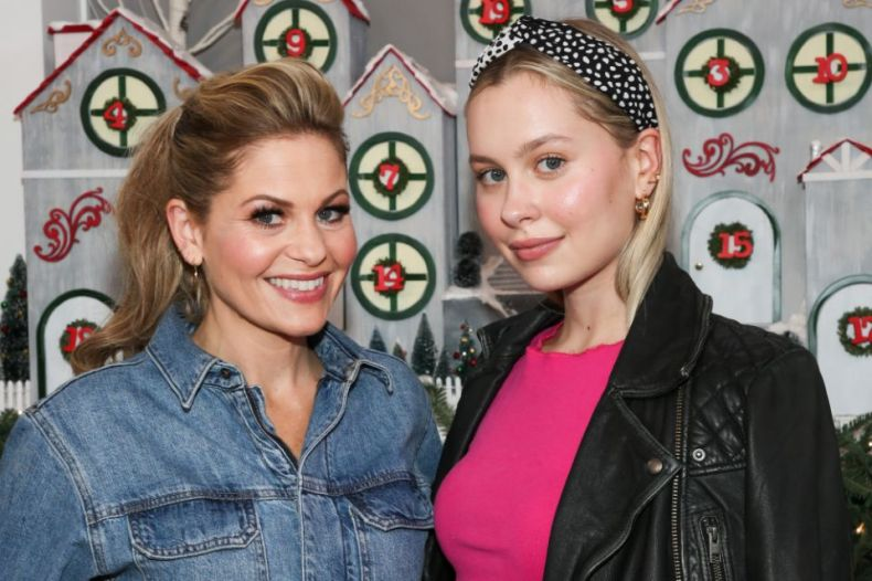 Candace Cameron-Bure (L) and her lookalike daughter Natasha Bure. (Photo: Paul Archuleta/Getty Images)