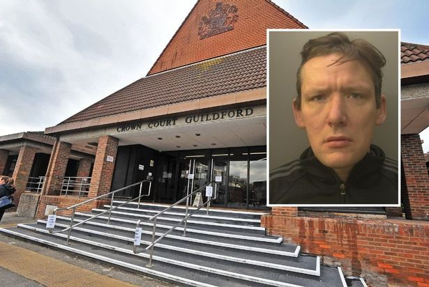 Wesley Davison jailed for commercial burglary at Guildford Crown Court