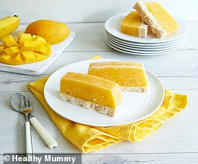 Australia's leading weight loss program Healthy Mummy shared the recipe for the dessert (pictured)