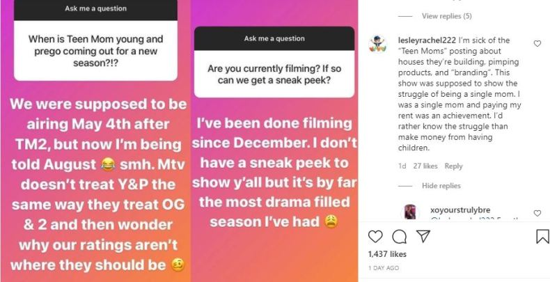 Teen Mom Young And Pregnant Bumped Back - Critics Want It Off MTV