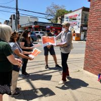 Bicyclists rally in celebration of lower speed limit on Hylan Boulevard | #College. | #Students