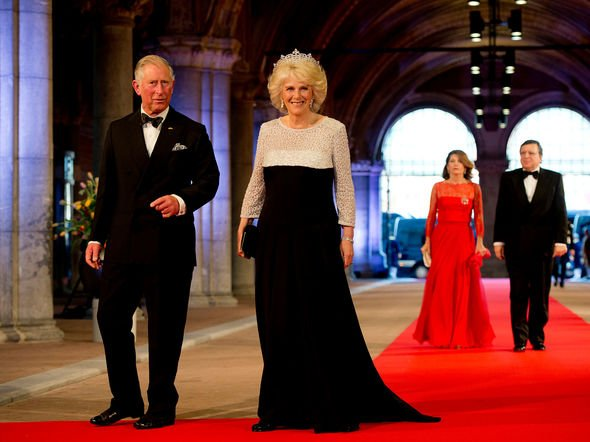 Prince Charles with Camilla, Duchess of Cornwall