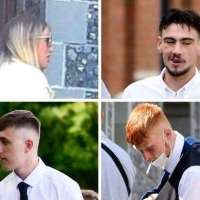 Canterbury teenagers guilty of violent disorder spared jail after assault on German student | #students | #parents