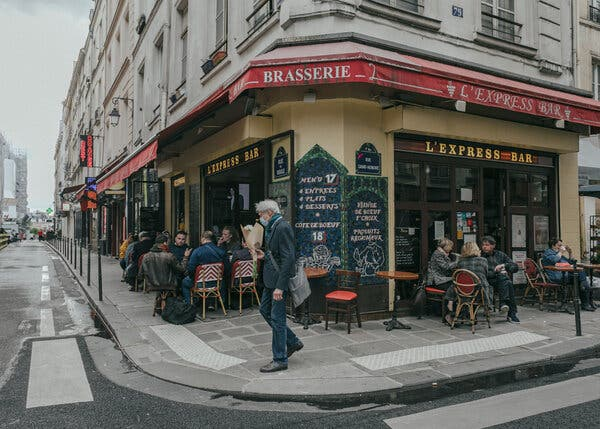 Restaurant and cafe terraces in France have reopened at 50 percent capacity, but the interiors of the establishments remain closed.