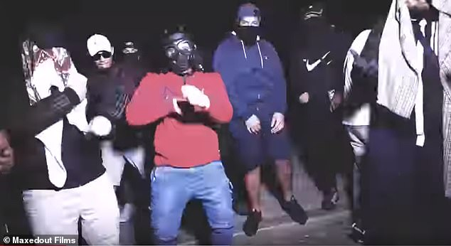 Sydney rappers OneFour say they're not gang members themselves and that the characters in the video are fictional