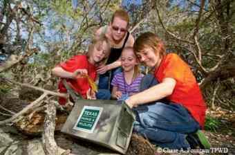 Geocaching Summer Holiday Activities