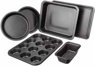 AmazonBasics 6-Piece Bakeware Set