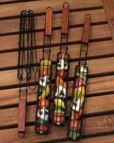 Charcoal Companion Nonstick Kabob Grilling Baskets