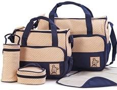 Moolecule 7 in 1 Mommy Diaper Bag Set