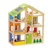 Hape All Seasons Wooden Doll House