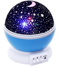 Lizber Baby Night Light Moon Star Projector
