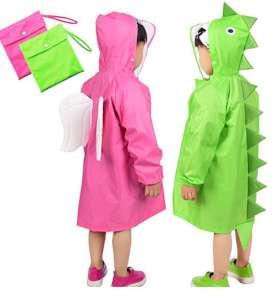 Rainbrace Girl Boy Cartoon Waterproof Hood Jacket