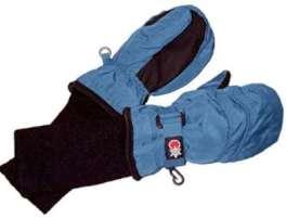 SnowStoppers Kids Waterproof Stay On Winter Nylon Mittens