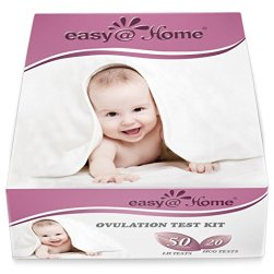 EasyHome Ovulation and Pregnancy Test Strips Combo Kit