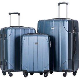 Merax Luggage Set Lightweight Travel Suitcase