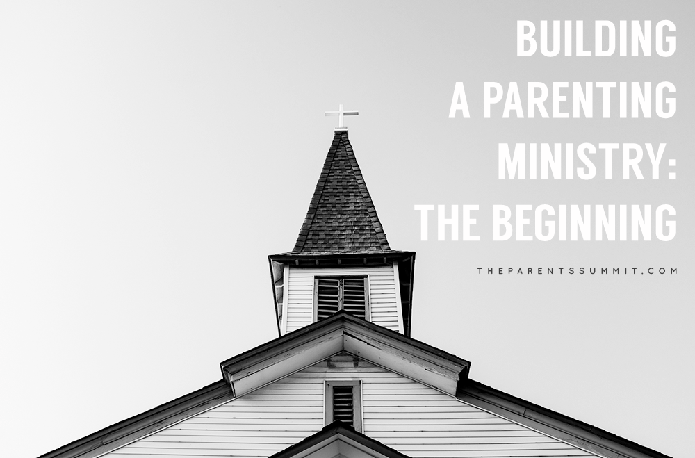 building a parenting ministry