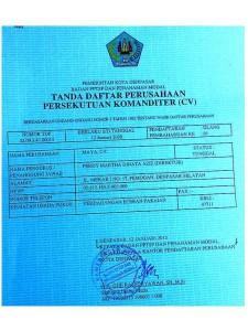 CV Maya Company Licence