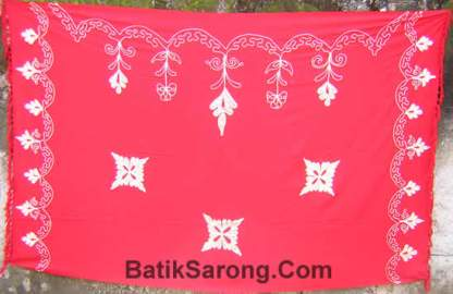 Embroidery Sarongs Bali Indonesia