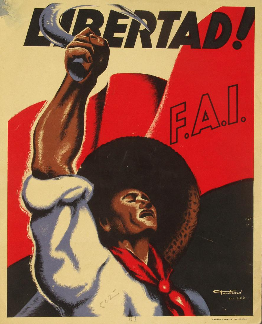 cartaz da guerra civil espanhola