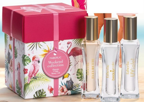 Подарочный парфюмерный набор