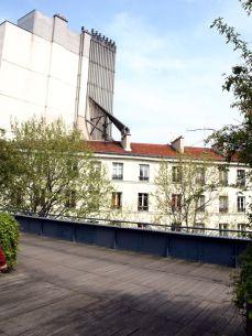 Promenade Plantée. Plíce Paříže - Sdružení komínů.