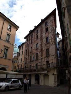 brescia Piazza della Loggia romana granatova