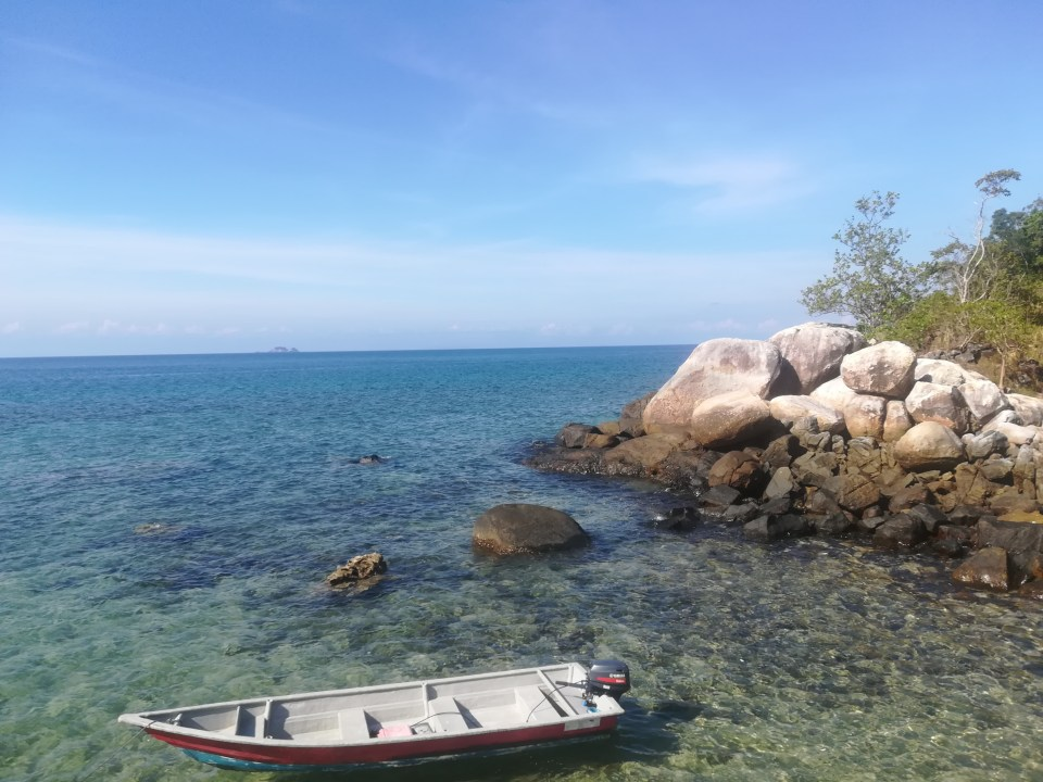 Ile de Tioman blog voyage