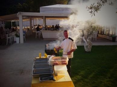 Grill evening in Lichnos Beach Hotel