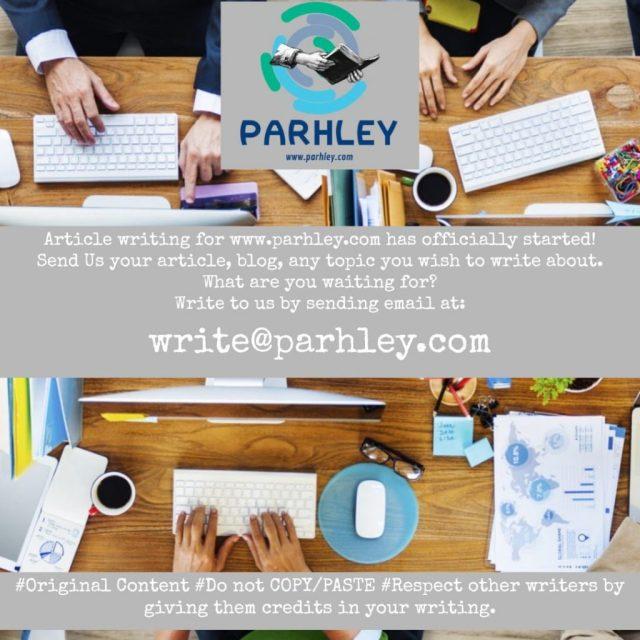 parhley - parhley.com - top pakistani blog - bloggist - blogger pk - write for parhley