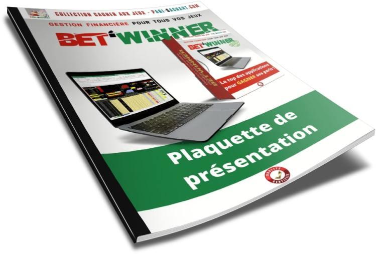Plaquette illustrée de présentation des fonctions de la gestion financière et'Winner - Gagner au Turf et aux paris sportifs - Pari-Gagnant.com