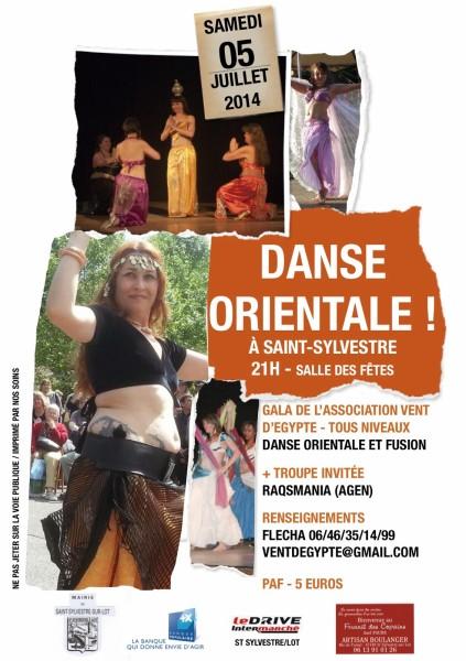 affiche gala danse juillet