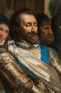 Détail_Henri_IV_-_Lentrée_dHenri_IV_à_Libourne_-_XIXe_PJ_Lordon_S_Gueble_Creuzet