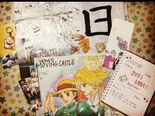 A few of the things that I bought from Japan Habba!