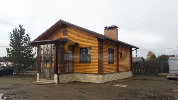 Дом с баней под одной крышей - фото хозяйского и гостевого ...