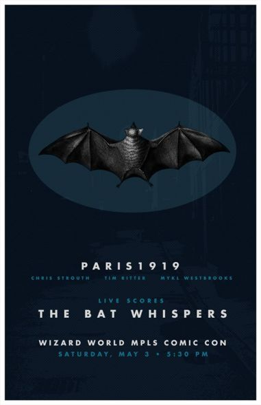 the Bat Whispers- Film score for Wizard World