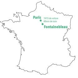 Quitter Paris pour Fontainebleau