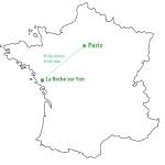 Quitter Paris pour La Roche sur Yon