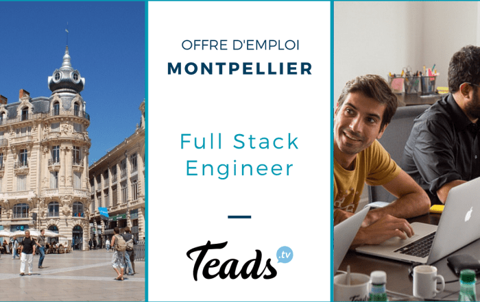 teads full stack engineer